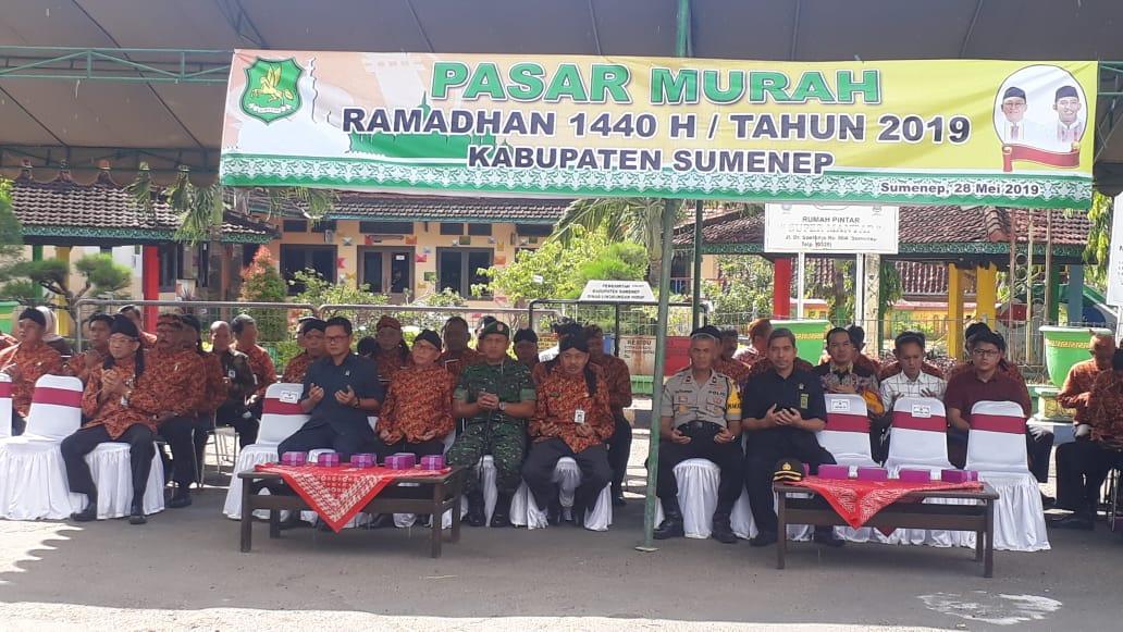 Pembukaan Pasar Murah Ramadhan 1440 H Kabupaten Sumenep