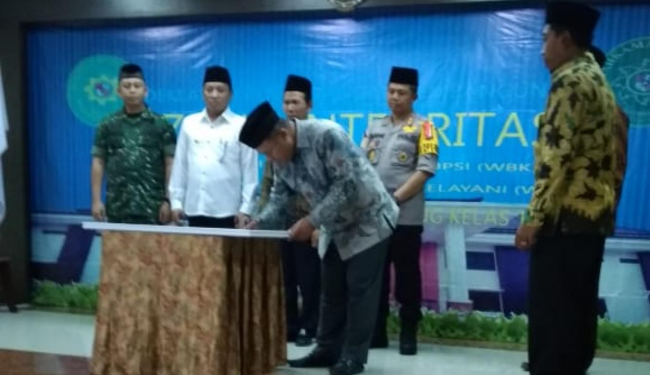 Pencanangan Zona Integritas (ZI) di Pengadilan Agama Sampang