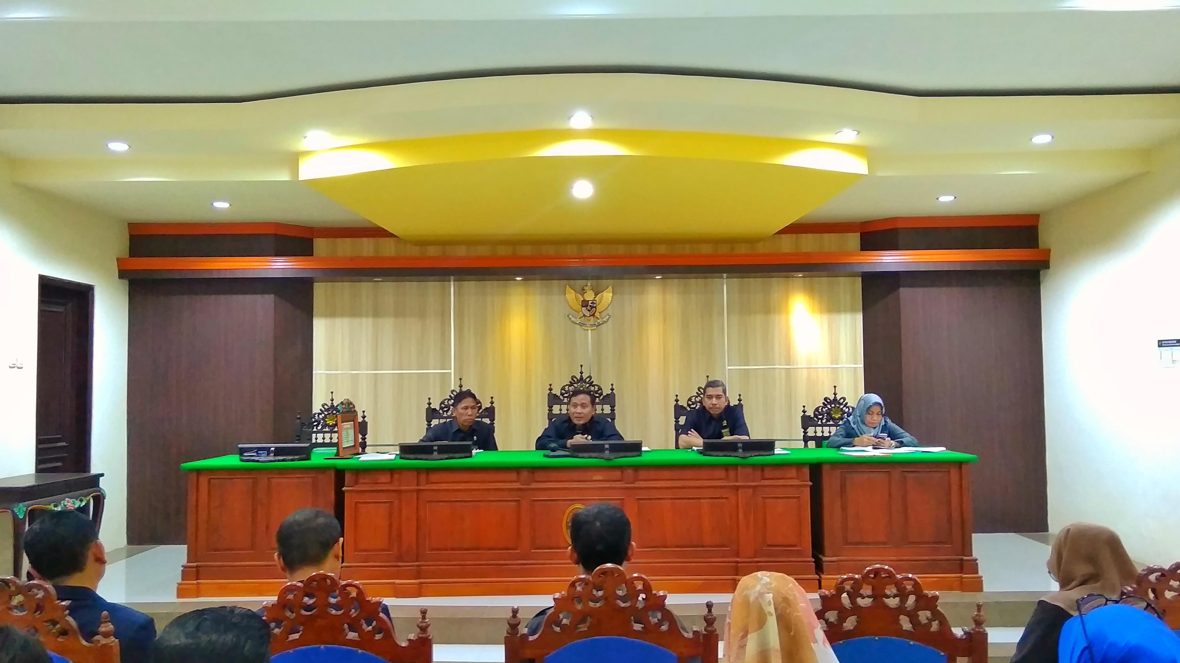 Rapat Dinas Bulanan Pengadilan Agama Sumenep